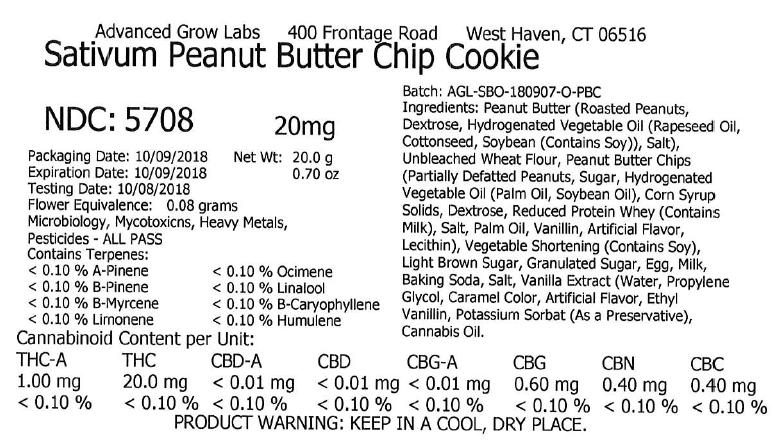 Sat Peanut Butter cookie 5708