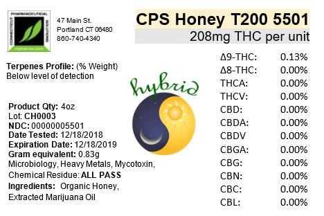 cps t200 honey