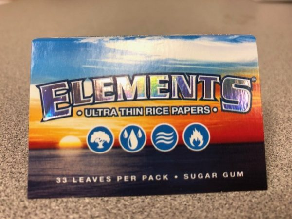 """Elements Rice Paper 1 1/2"""" Rolling Papers"""