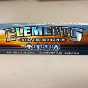 Element Rice Paper King Size Rolling Papers