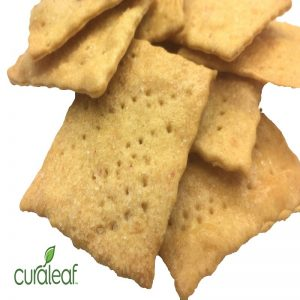 Sea Salt Wheat Crackers - 5904 (Sativa, 10mg x 10)